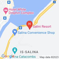 Map SALINI RESORT