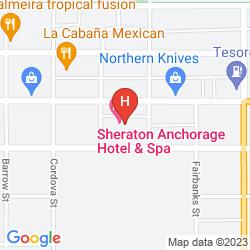 Map SHERATON ANCHORAGE HOTEL & SPA