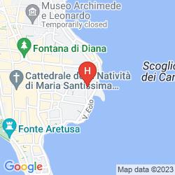 Map ALLEGROITALIA SIRACUSA ORTIGIA