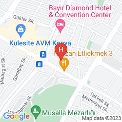 Map OZKAYMAK PARK