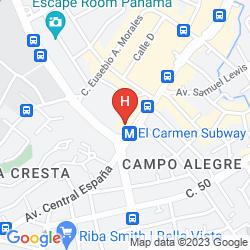 Map VENETO HOTEL & CASINO