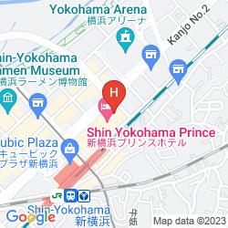 Map SHIN-YOKOHAMA PRINCE