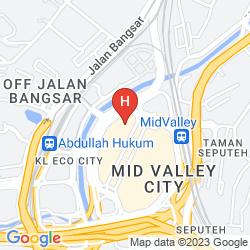 Map THE BOULEVARD - A ST GILES HOTEL, KUALA LUMPUR