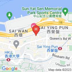 Map BEST WESTERN PLUS HOTEL HONG KONG