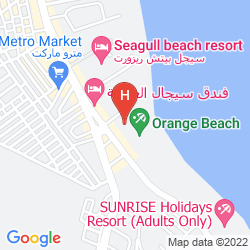 Map SUNRISE HOLIDAYS RESORT ADULTS ONLY