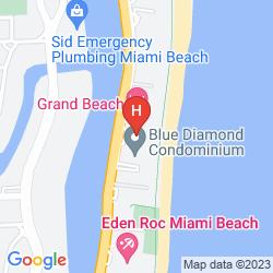 Map MIAMI BEACH RESORT