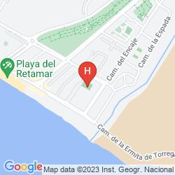 Map CABOGATA GARDEN HOTEL & SPA