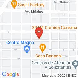 Map FIESTA AMERICANA
