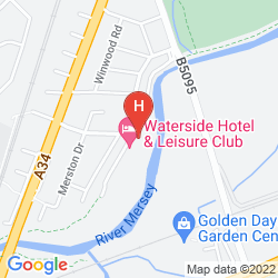 Map THE WATERSIDE HOTEL & THE GALLEON LEISURE CLUB