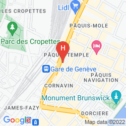 Map WARWICK GENEVA