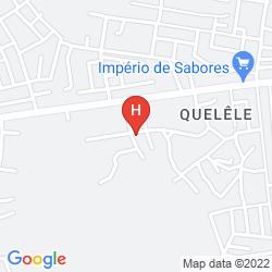 Map CEIBA HOTEL BISSAU