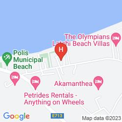 Map MARIELA HOTEL APARTMENTS