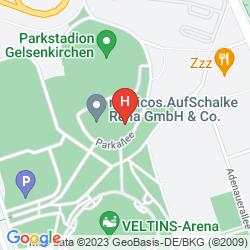 Map COURTYARD GELSENKIRCHEN