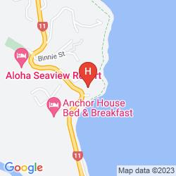Map HEARTLAND HOTEL BEACHCOMBER