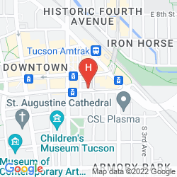 Map AC HOTEL TUCSON DOWNTOWN