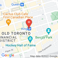 Map ONE KING WEST HOTEL & RESIDENCE