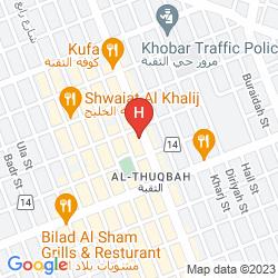 Map AL NIMRAN SUITES