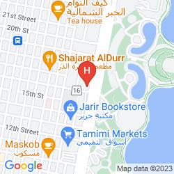 Map HAWTHORN SUITES BY WYNDHAM AL KHOBAR