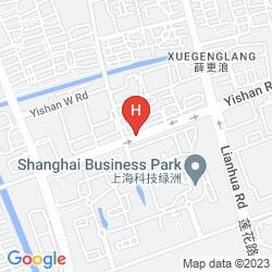 Map BEST WESTERN SHANGHAI RUITE