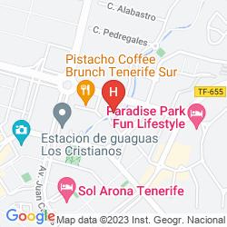Map APARTAMENTOS AGUAMAR