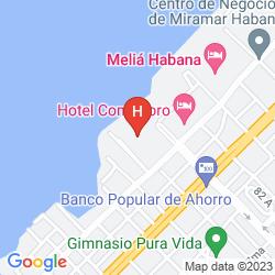 Map CUBANACAN COMODORO
