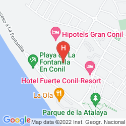 Map FUERTE COSTA LUZ