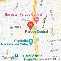 Map INGLATERRA HAVANA