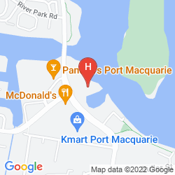 Map SAILS RESORT PORT MACQUARIE - BY RYDGES