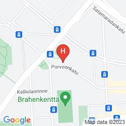 Map SCANDIC KALLIO