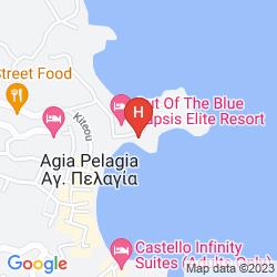 Map CAPSIS ELITE RESORT