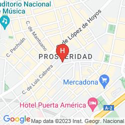 Map APARTAMENTOS SERCOTEL TOGUMAR