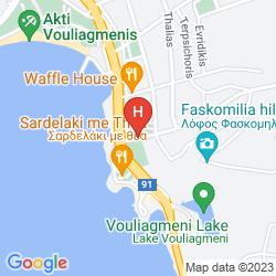 Map VOULIAGMENI SUITES