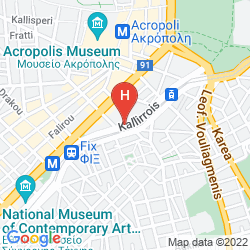 Map THE ATHENIAN CALLIRHOE EXCLUSIVE HOTEL