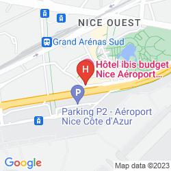 Map CAMPANILE NICE AEROPORT