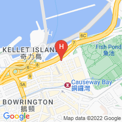 Map THE EXCELSIOR HONG KONG