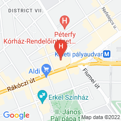 Map HUNGARIA CITY CENTER
