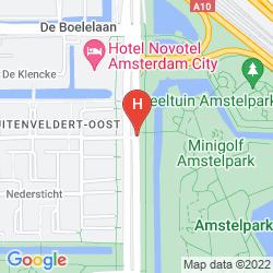 Map NOVOTEL AMSTERDAM CITY
