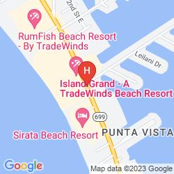 Map ISLAND GRAND BEACH RESORT