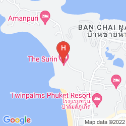 Map THE SURIN PHUKET