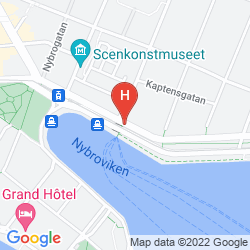 Map ESPLANADE, SURE HOTEL COLLECTION BY BEST WESTERN, STOCKHOLM