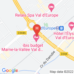 Map RESIDHOME VAL D'EUROPE