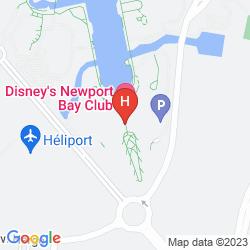 Map DISNEY'S NEWPORT BAY CLUB