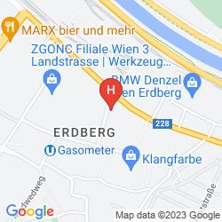 Map ROOMZ VIENNA GASOMETER