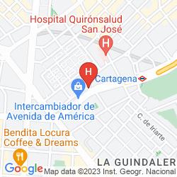 Map PUERTA AMERICA