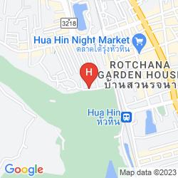 Map HILTON HUA HIN RESORT & SPA