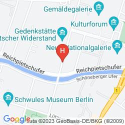 Map MARITIM HOTEL BERLIN