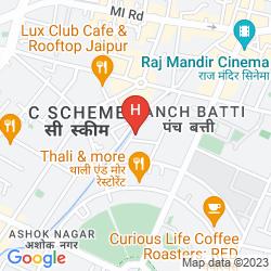 Map CHOKHI DHANI