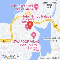 Map HILTOP PALACE