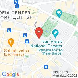 Map GRAND HOTEL SOFIA