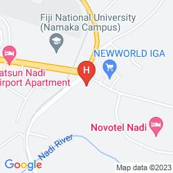 Map MOCAMBO HOTEL NADI